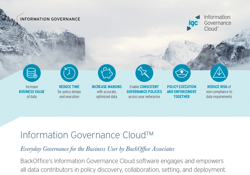 Information Governance Cloud™ (IGC™)