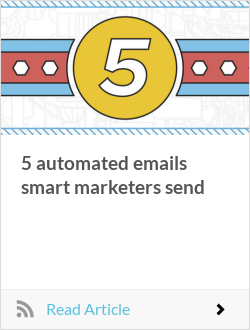 5 automated emails smart marketers send