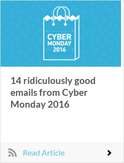 14 ridiculously good emails from Cyber Monday 2016