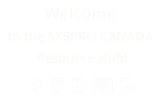 SYSPRO Resource Hub logo