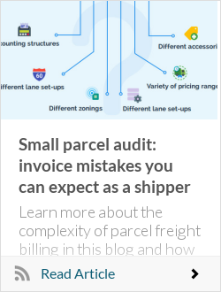 Small parcel audit: invoice mistakes you can expect as a shipper
