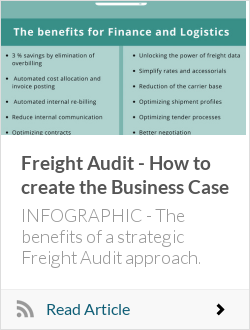 Freight Audit - How to create the Business Case