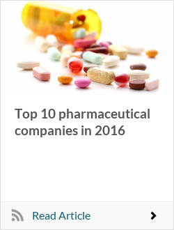 Top 10 pharmaceutical companies in 2016