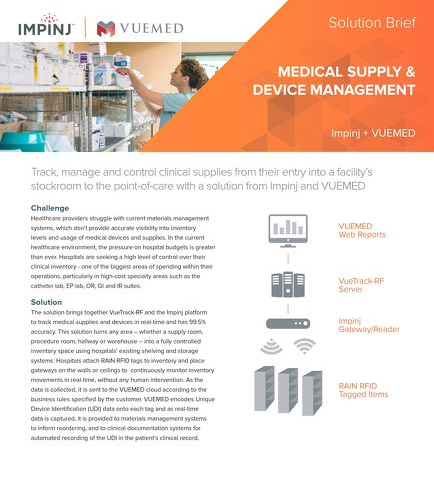 Medical Supply and Device Management