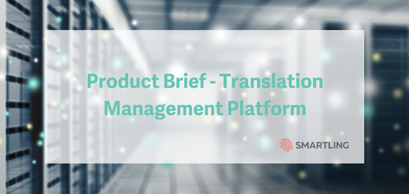Product Brief - Translation Management Platform