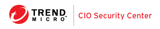 Trend Micro CIO Security Center logo