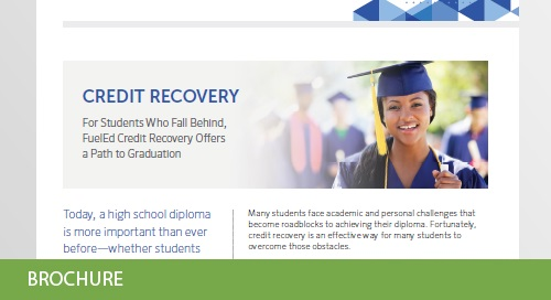 FuelEd Credit Recovery Offers a Path to Graduation