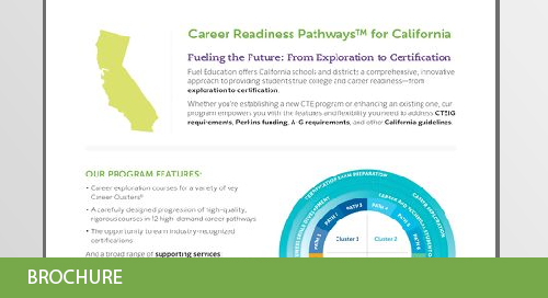California Career and Technical Education Flyer