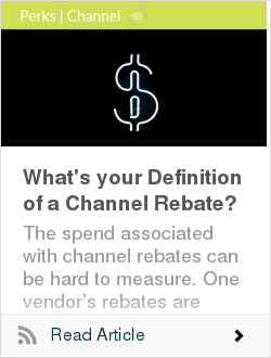 What's your Definition of a Channel Rebate?