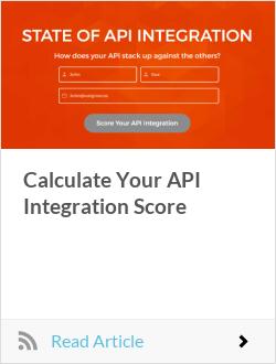 Calculate Your API Integration Score