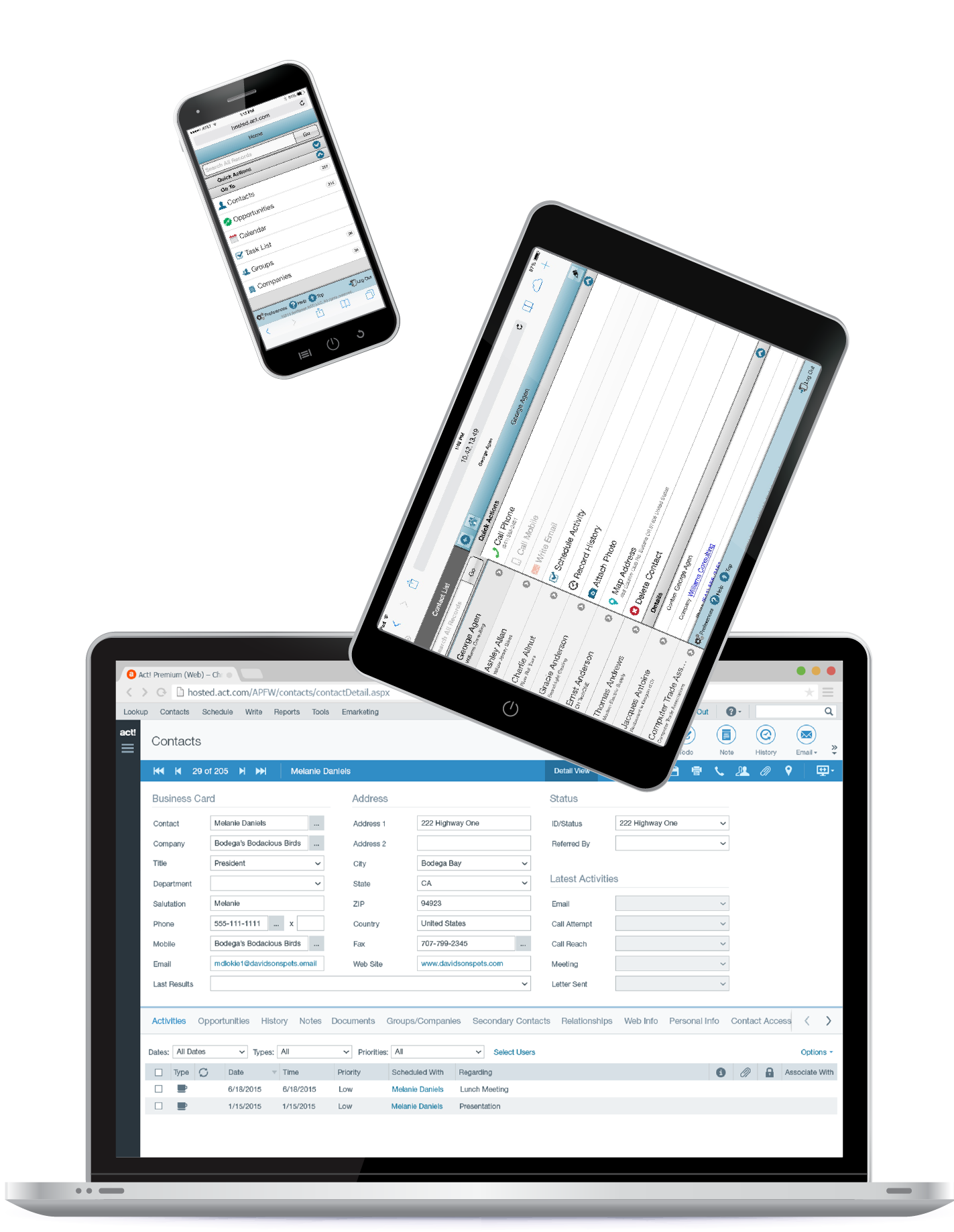 Swiftpage ACT! CRM Software