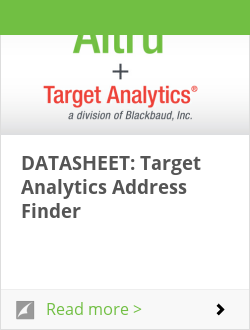 DATASHEET: Target Analytics Address Finder