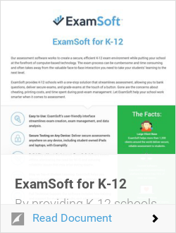 ExamSoft for K-12