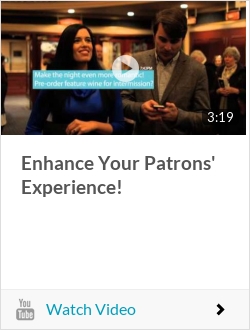 Enhance Your Patrons' Experience!