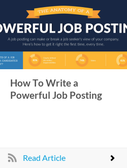 How To Write a Powerful Job Posting