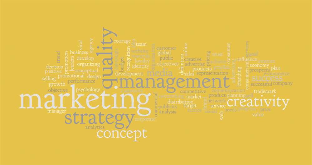 The focus is almost entirely on marketing management