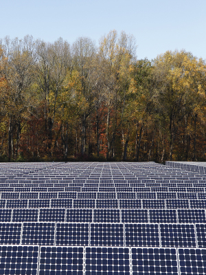 Commercial solar power generation can help support corporate sustainability goals