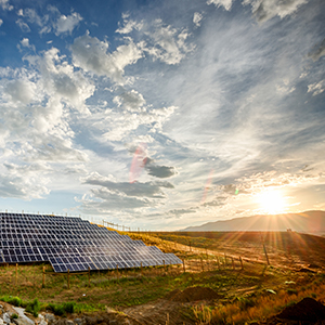 Renewable energy growth is on the rise