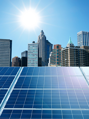 Solar energy systems for businesses
