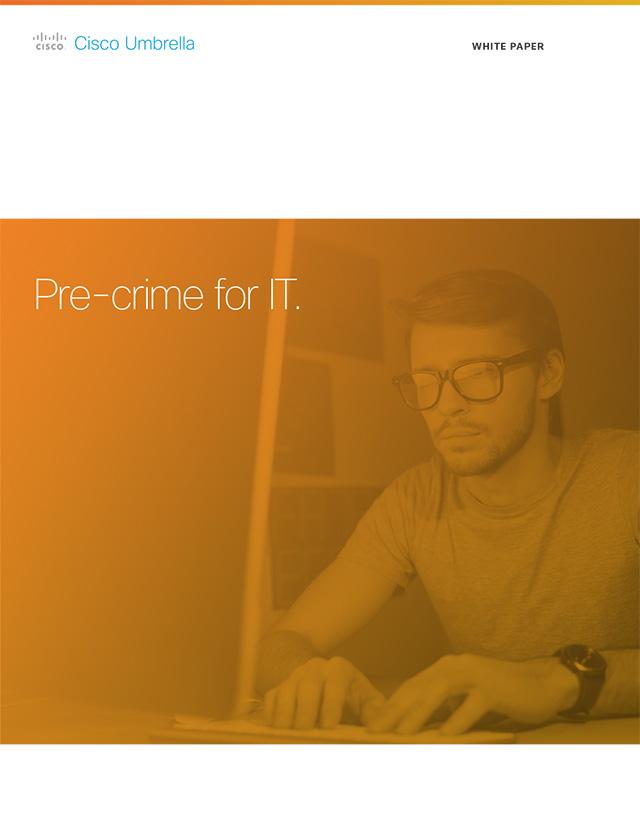 Predictive Intelligence: Pre-Crime for IT