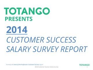 2014 Customer Success Salary Report