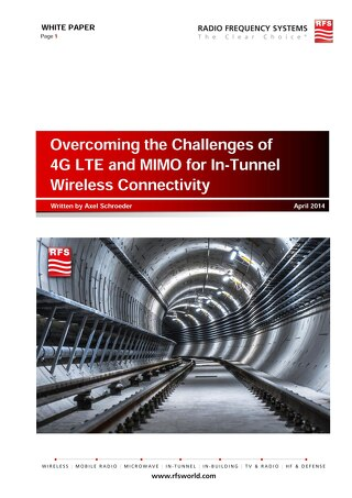 RFS WhitePaper Challenges 4G LTE+MIMO In-Tunnel Wireless Connectivity