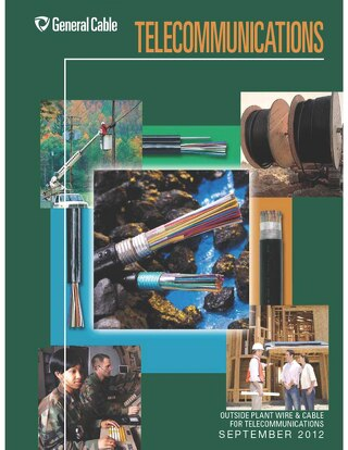 General Cable Telecommunications Catalog