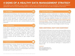 4 Signs of Healthy Data Management System