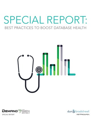 Special Report: Best Practices to Boost Database Health