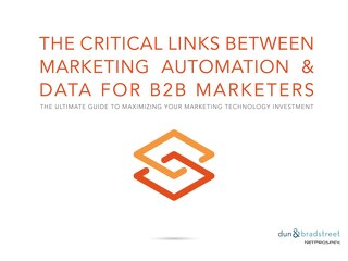 The Critical Links Between Marketing Automation & Data for B2B Marketers