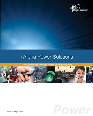 Alpha Technologies Catalog 2015