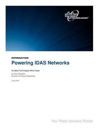 Alpha Technologies Powering IDAS Networks