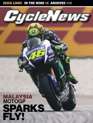 Cycle News 2015 Issue 43 October 27