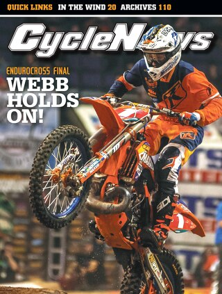 Cycle News 2015 Issue 47 November 24