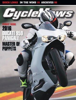 Cycle News 2015 Issue 48 December 1