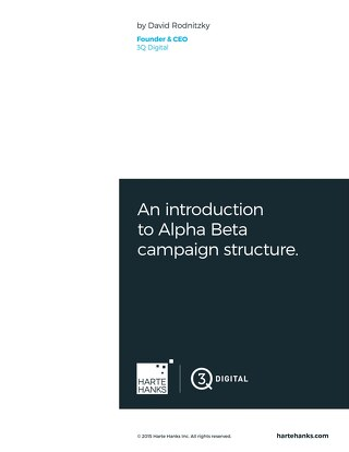 An Introuction to Alpha Beta Campaign Structure