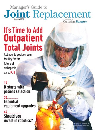 Manager's Guide to Joint Replacement - January 2016