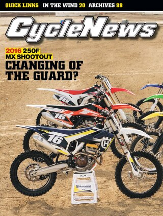 Cycle News 2016 Issue 02 January 19