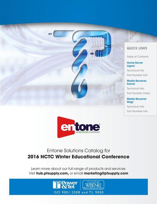 Entone-Amino NCTC WEC 2016