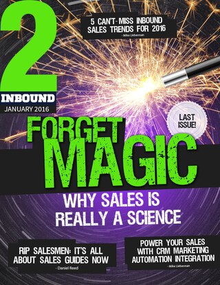 2Inbound: Forget Magic - Why Sales Is Really A Science