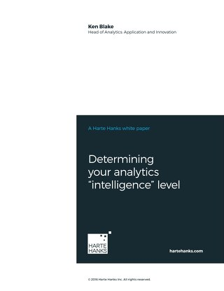 "Determining Your Analytics ""Intelligence"" Level"