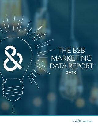 The B2B Marketing Data Report