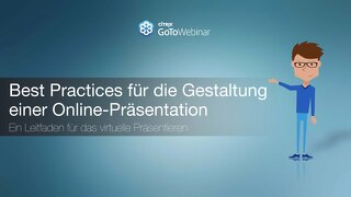 Best Practices für die Gestaltung einer Online-Präsentation