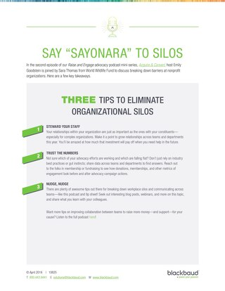 3 Tips to Eliminate Organizational Silos