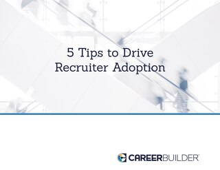 Are Your Recruiters Transforming with HR Technology?