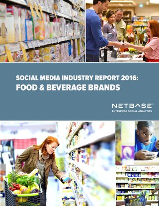 Social Media Industry Report 2016: Food & Beverage Brands