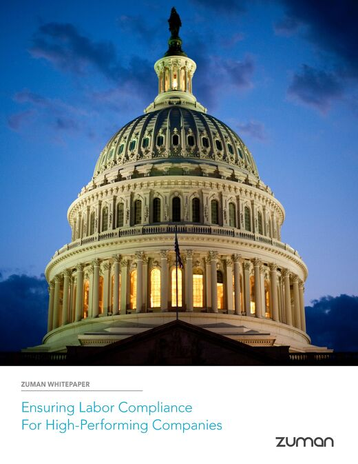 Zuman Whitepaper: Ensuring Compliance for High-Performing Companies