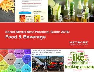 Social Media Best Practices Guide 2016: Food & Beverage