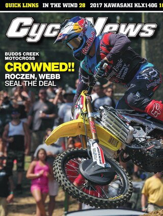 Cycle News 2016 Issue 33 August 23