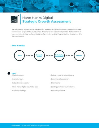 Harte Hanks Digital Strategic Assessment